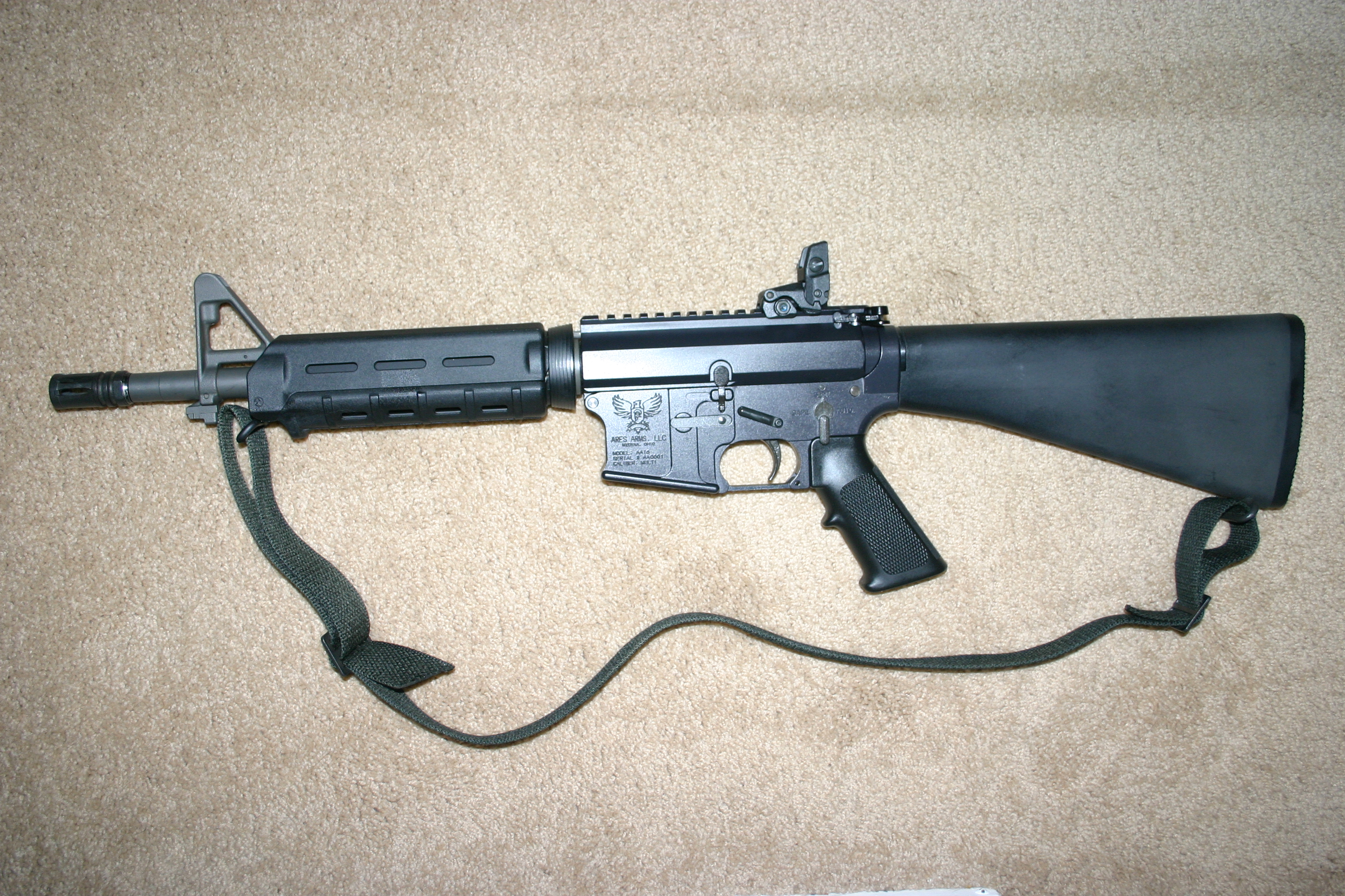 Ares Arms AA-16 223 Magpul and Fixed Stock